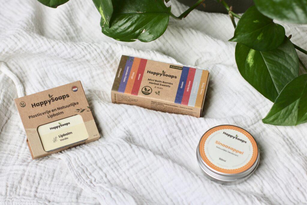 happy soaps vegan verzorginsproducten plasticvrij